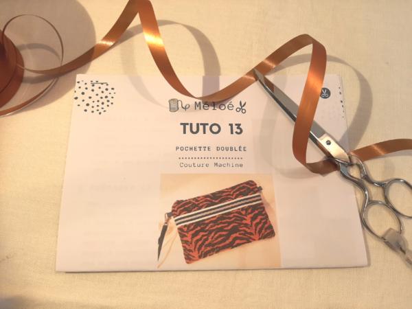 Kit Pochette Tuto 13 - Atelier Méloé