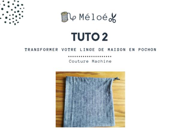 Tuto 2 Atelier Méloé - Le pochon