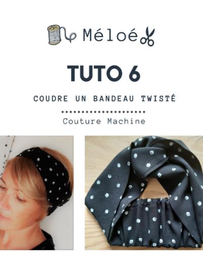 Tuto 6 Atelier Méloé - Le bandeau