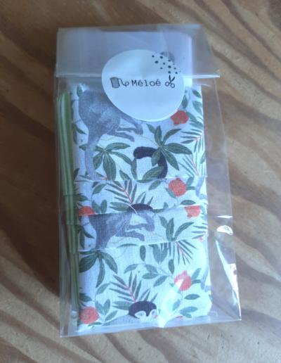 Kit Masque de protection fleuri - Atelier Méloé